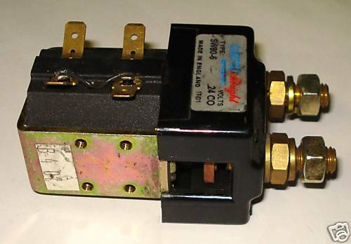 ALSW80-6 ALBRIGHT ORIGINAL CONTACTOR 24 VOLT ALSW806