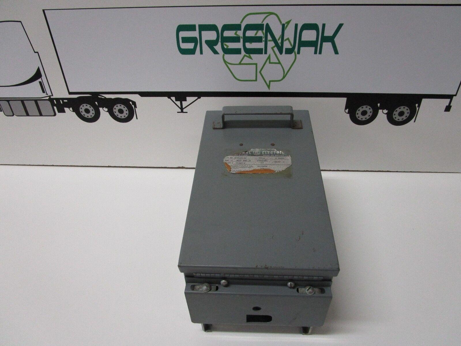 GENERAL ELECTRIC DFPC421DH 30A 240V 4-POLE FLEX-A-PLUG SWITCH - USED - FREE SHIP