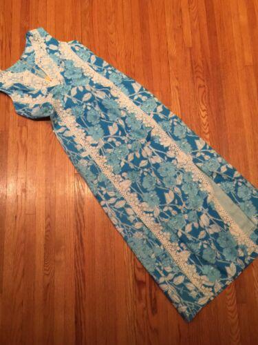 The Lilly Lilly Pulitzer Hawaiian maxi dress 1960s