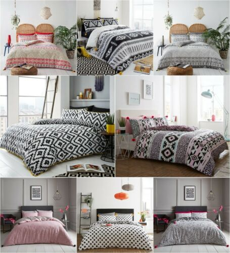 New Multi Designs Pom Pom Style Luxury Modern Duvet Cover Sets Bedding Sets GC