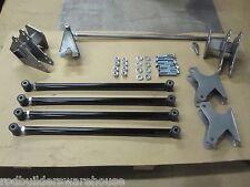 "Universal Street Hot Rod Parallel Rear Four Link Kit 4 Bar   24""  Bars USA MADE!"