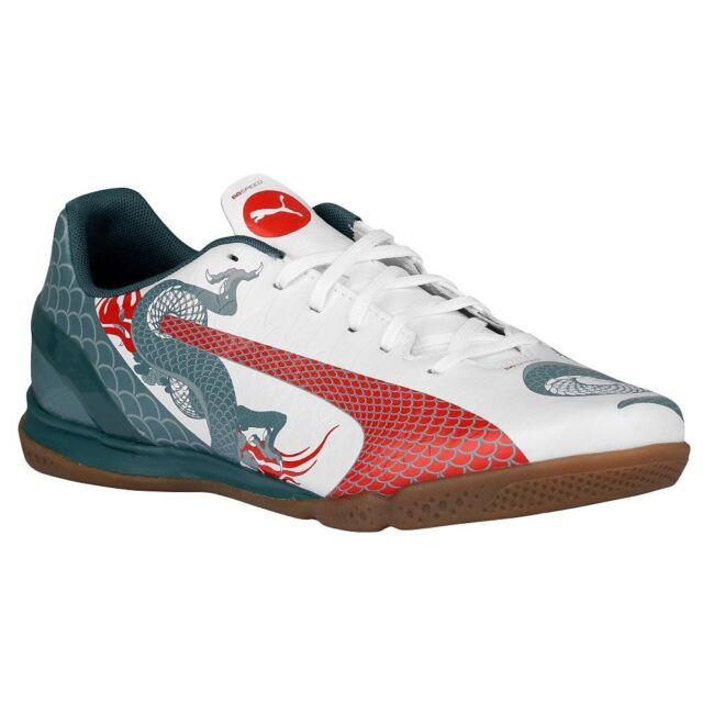 Puma Dragon eVoSpeed 4.3 IT Casual   Training Indoor Soccer Shoes Brand New 7cd24e9ecaa9
