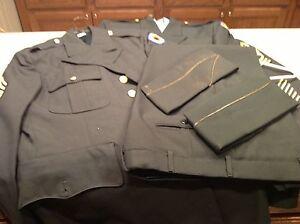 Vintage-Army-National-Guard-Kansas-Summer-Winter-Uniforms-Sunflower-Patch-7-pcs