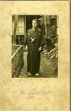 PHOTO JAPAN Yamamoto un homme en kimono Japon costume traditionnel 1900