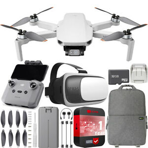 DJI-Mini-2-Drone-4K-Video-Quadcopter-Backpack-amp-FPV-Headset-Accessories-Bundle