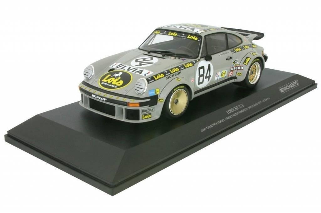 Porsche 934 Anny  Charlotte Verney  84 24H Le Mans 1979 - 1 18 - Minichamps  autorisation de vente de la marque
