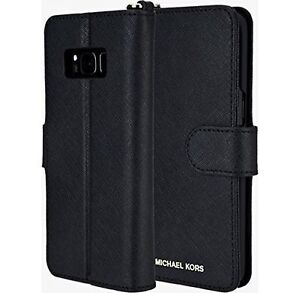 77df44339a34 Michael Kors Saffiano Leather Folio Wallet Case For Samsung Galaxy ...