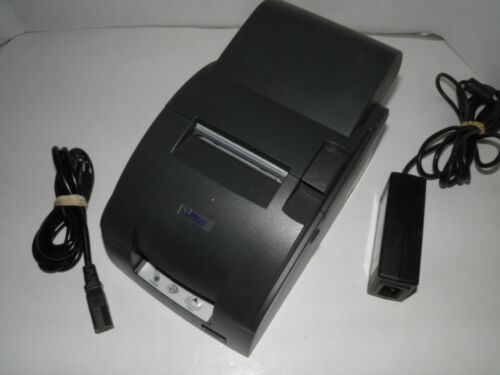 EPSON TM-U220A M188A Dot Matrix POS Receipt Printer USB RJ45 with Power Supply