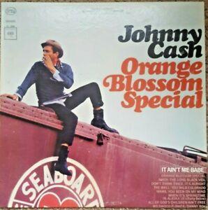 Johnny-Cash-Orange-Blossom-Special-Album-LP-1965-Columbia-Records-Vinyl-VG