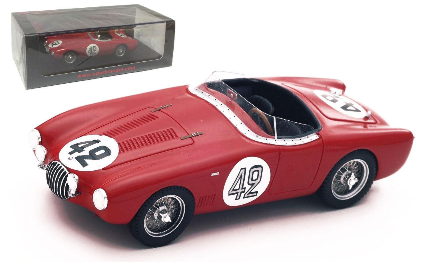 Spark S4736 Osca Mt 4 Le Mans 1954-Perón Giardini escala 1 43