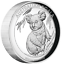 2019-Australian-Koala-1-oz-Dollar-1-Silver-Proof-High-Relief-Coin-Australia thumbnail 1