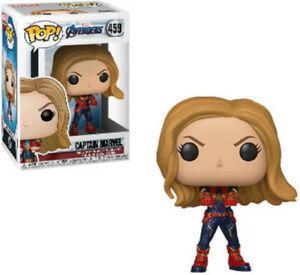 FUNKO-POP-MARVEL-Avengers-Endgame-Captain-Marvel-New-Toys-Vinyl-Figure
