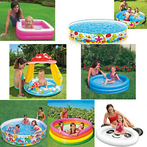 Baby Toddler Paddling Pool Child Mini Inflatable Kids infants Summer Fun Garden