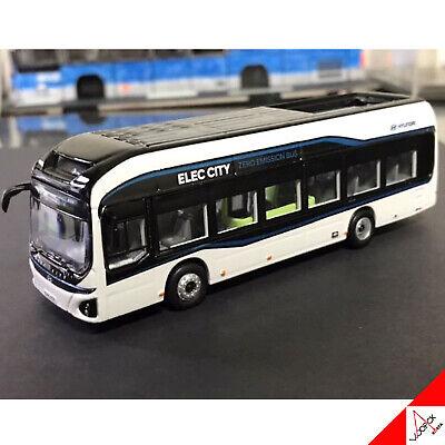 HYUNDAI 1//87 ELEC CITY Korea City Bus Die-Cast Miniature Car 3-Set High Quality