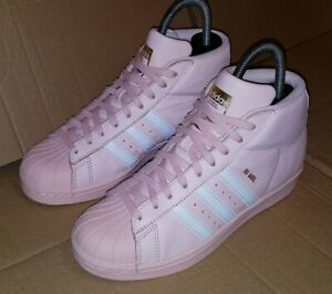 Rose Rare 80's 3 Excellent Model Blanc Adidas Taille Trainers Superstar Pro 5 Uk PaWxqHz