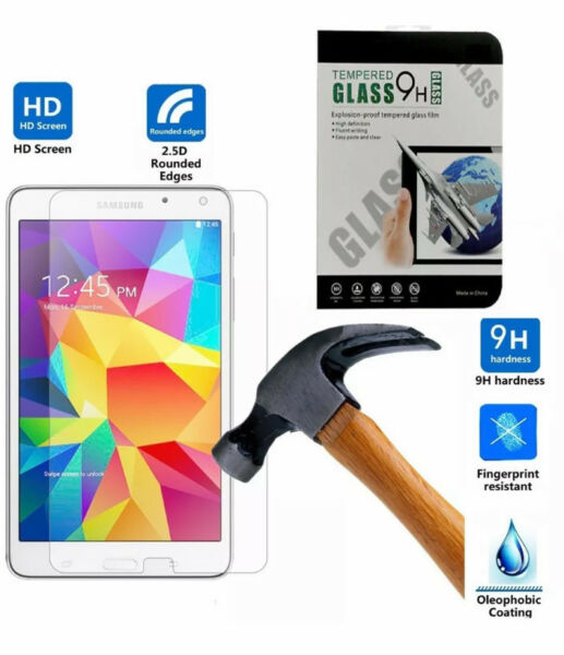 """100% Genuine Tempered Glass Screen Protector For Galaxy Tab A 7"""" Inch T280 T285"""