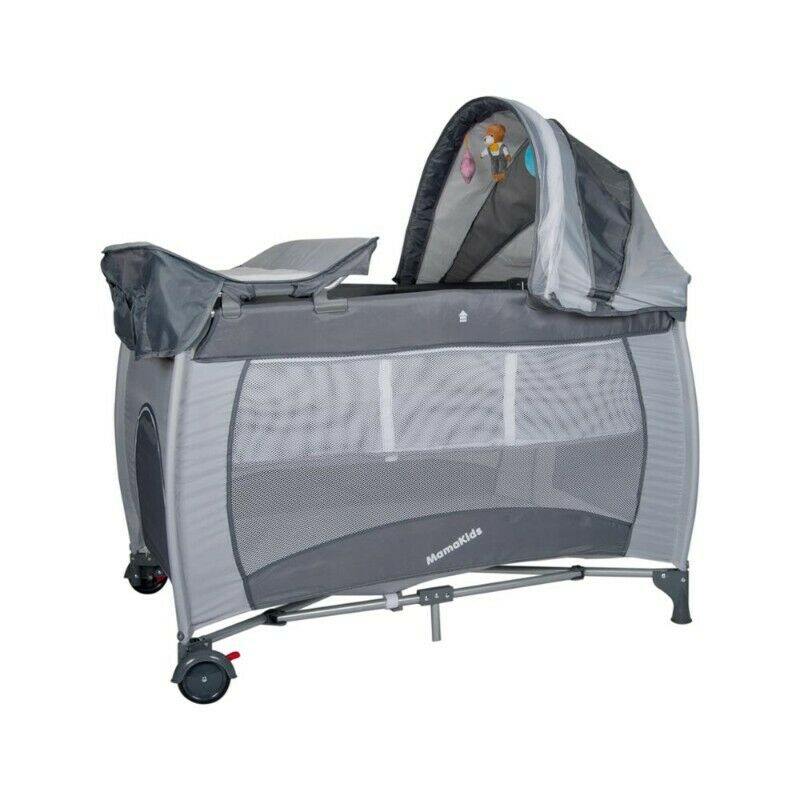 Brand new Mamakids stock (camp cots, play pens, high chairs, walkers, bouncers, rockers)