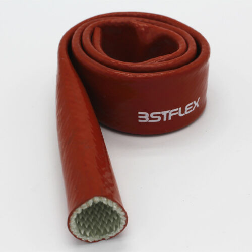 6mm~50mm High Temperature Heat Vulcan Fire Sleeve Fire Braid Flame Shield RED