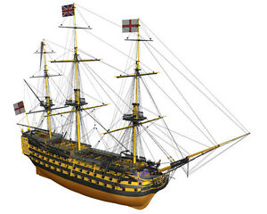 Beautiful-brand-new-wooden-model-ship-kit-by-Billing-Boats-the-034-HMS-Victory-034