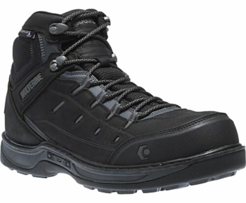 Wolverine EDGE LX EPX™ WATERPROOF WORK BOOT Black//Grey