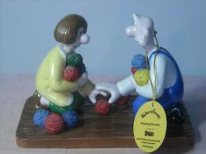 Coalport-Characters-WALLACE-amp-GROMIT-WOOLSHOP-ENCOUNTER-Figurine-Tag-Box