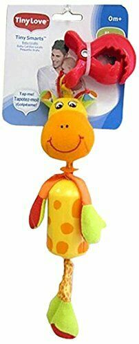 Tiny Love Baby Sweet sounding Wind Chimes Giraffe Toy FREE UK POSTAGE NEW