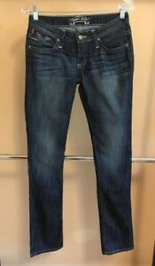 dritta Robin's taglia Jeans Jean Authentic New gamba donna 27 Casual xZwwHqB06n