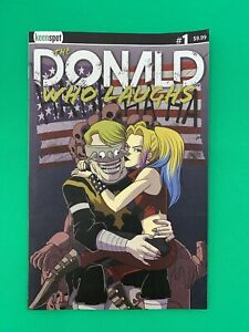Keen-Spot-Trump-039-s-Titans-The-Donald-Who-Laughs-1-Cover-B-Flip-Variant