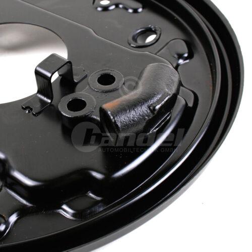 """derecha para todos VW t3 14/"""" 2x placa de anclaje nuevo freno de tambor trasera izquierda"""
