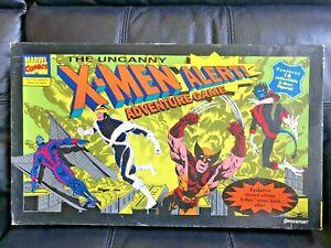 Uncanny-X-MEN-Alert-Vintage-90-039-s-Adventure-Board-Game-Marvel-Comics