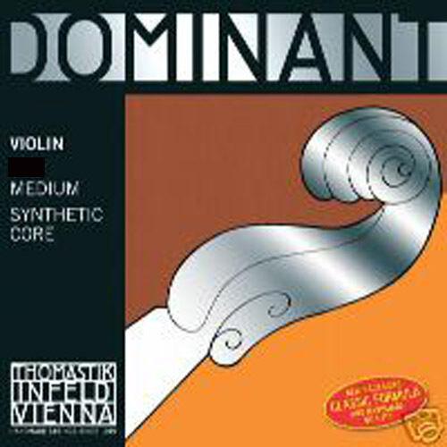 Dominant  4 4 Violin String Set  w  Aluminum E Ball End