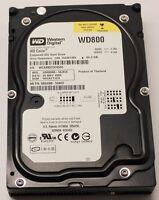 """WESTERN DIGITAL WD800 80GB IDE 3,5"""" WD CAVIAR BLACK NERO"""