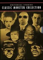 Universal Studios Classic Monster Collection 8 Complete Movies DVD New & Sealed