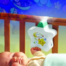 Tomy Baby Musical Starlight Dreamshow Light Show/Cot Mobile Projector White NEW