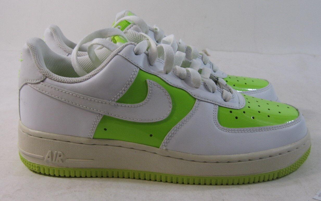 Nike Wmns Air Force 1 07 - 315115712/Authentic Shoes Volt/White Size 7.5