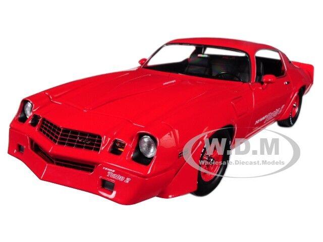 100% precio garantizado 1981 Chevrolet Camaro Z Z Z 28 Yenko Turbo Z rojo 1 18 Diecast por verdelight 12999  edición limitada en caliente
