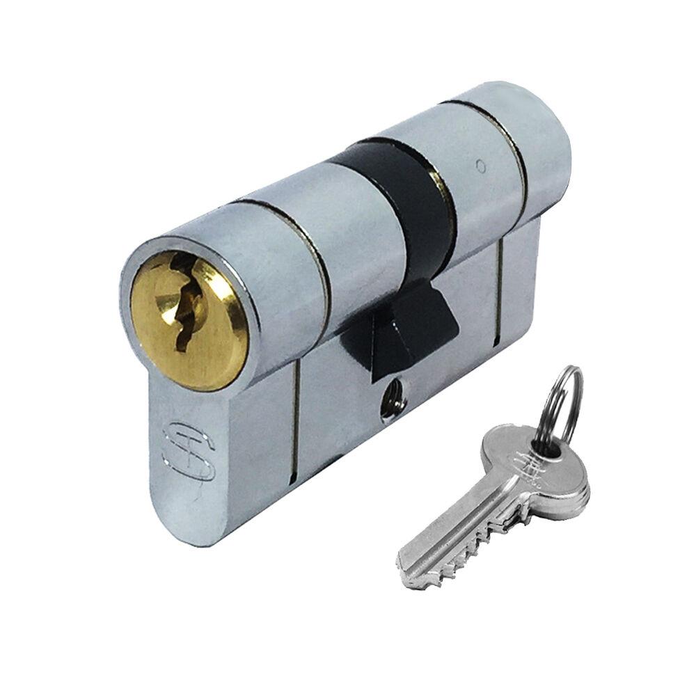 47//57T Thumb Turn Euro Cylinder Barrel Door Lock for UPVC Doors Dual Finish