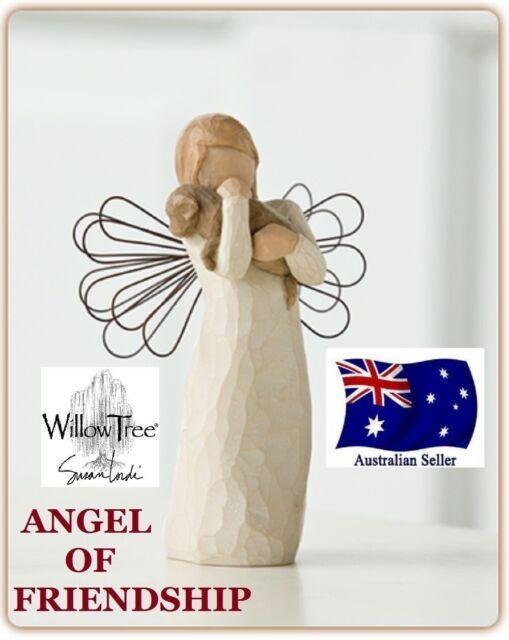 ANGEL OF FRIENDSHIP Demdaco Willow Tree Figurine By Susan Lordi BRAND NEW IN BOX