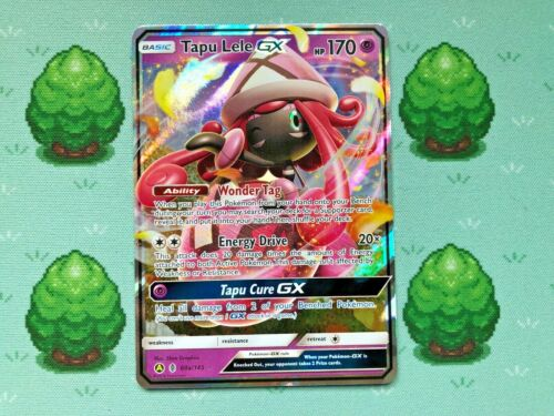 SM Guardians Rising Tapu Lele GX 60a//145 Half Art Pokemon