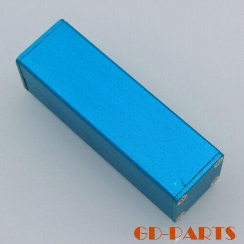 25x25x80mm Blue Aluminum Enclosure Case Box for PCB board instrument Power bank