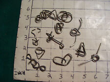 Vintage WIRE or MEATAL PUZZLES
