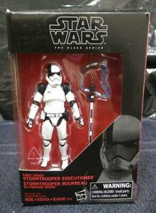 First Order new WALMART EX Star Wars Black Series 3.75 Executioner Stormtrooper
