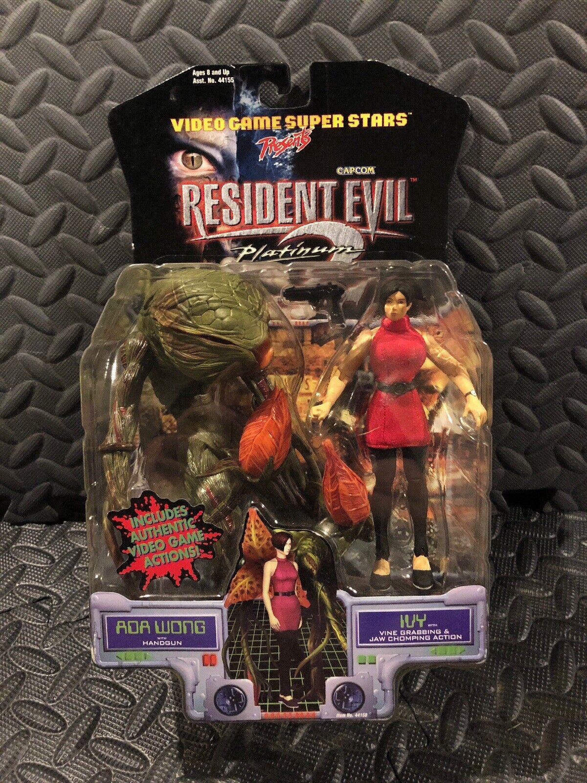 Resident Evil 2 Platinum - Ada Wong and Ivy Action Figures Toy Biz 1998