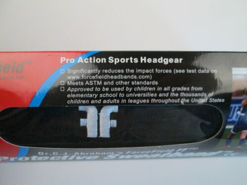 ForceField FF Black Protective Sweatband Black Headgear Soccer Volleyball