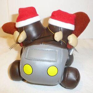 Slag Brothers Boulder Mobile Car Holiday Plush Stuffed Animal 1997