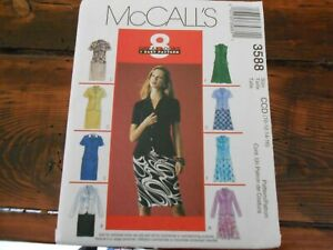 McCalls-Sewing-Pattern-3588-Un-cut-Misses-Size-10-12-14-Lined-Jackets-amp-Skirts