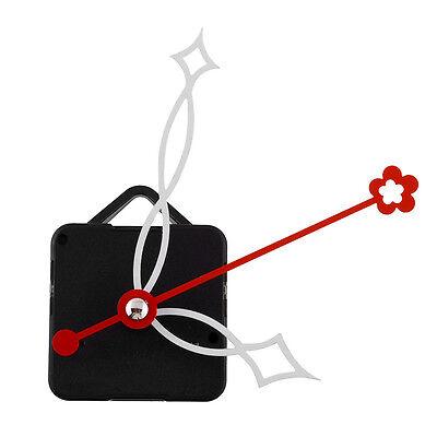 Hot Quartz Clock Movement White&Red Hands Mechanism Parts Repair Tools Set Kit