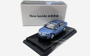 1-64-Shanghai-Volkswagen-Original-Alloy-car-model-NEW-Lavida-Gift-collection