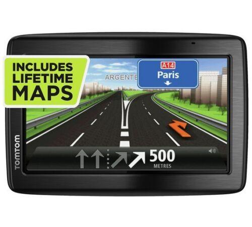 """TomTom via 135 M 5/"""" GPS SAT NAV-con el Reino Unido Europa completo y de ROI libre de mapas de por vida"""
