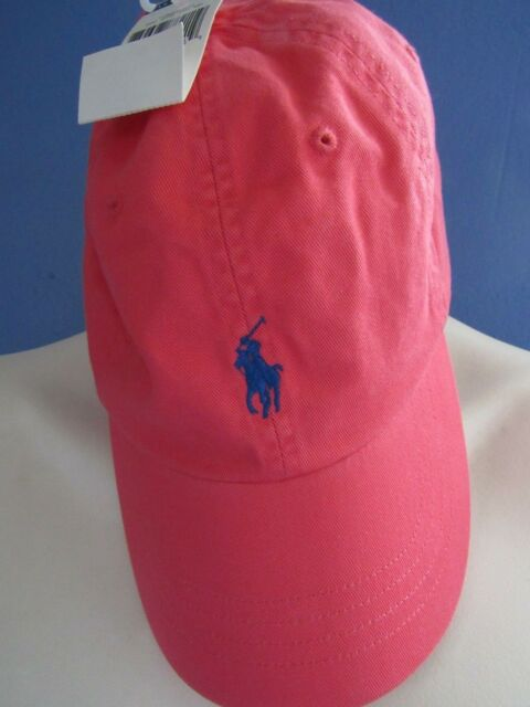 Polo Ralph Lauren Adjustable Strap Pony Logo Baseball Cap Hat Fiery ... 87ff2a91e1c7